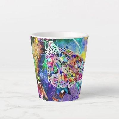 Fairytale World Latte Mug