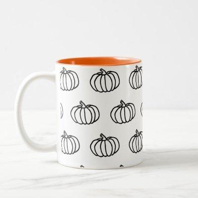 Fall Pumpkins Mug