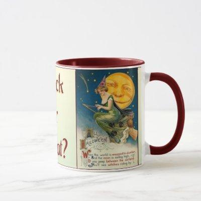 Fall-Vintage Halloween Mug -1