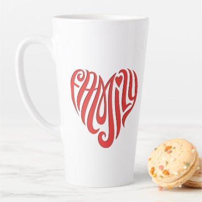 Family Love Latte Mug