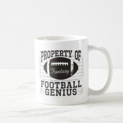 Fantasy Football Genius Coffee Mug