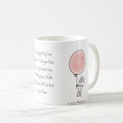 Farewell Gift Personalized Cute For Female Coffee Mug