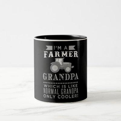 Farmer Grandpa, Cool Farmer Grandpa Mug