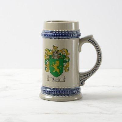 Farrell Coat of Arms Stein / Farrell Family Crest