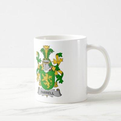 Farrell Family Crest Coffee Mug