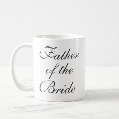 Father of the Bride Save The Date Custom Mug