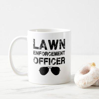 father's day Gift, Lawn enforcement officer Coffee Mug