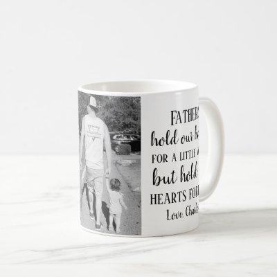 Father's Day Photo Daughter Quote Coffee Mug