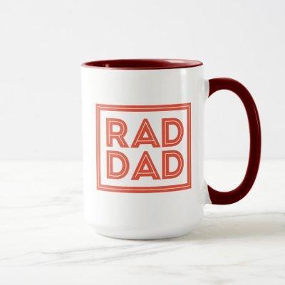 Father's Day - Rad Dad Mug