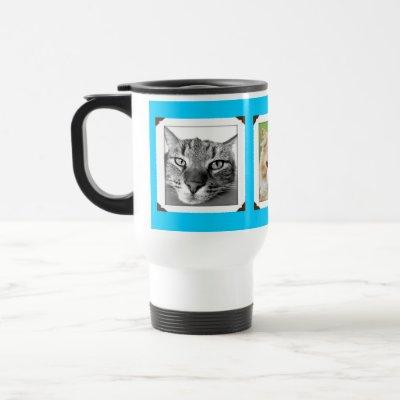 Favorite Pet Photos Cat Lovers Travel Mug
