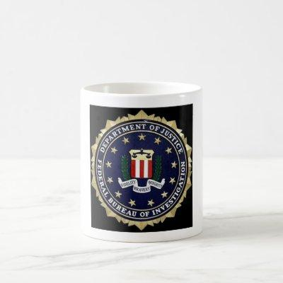 FBI Emblem Coffee Mug