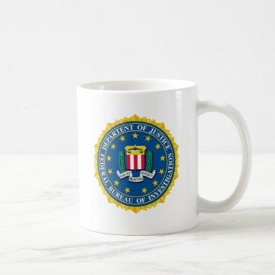 FBI Seal Coffee Mug