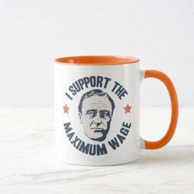 FDR Maximum Wage Mug