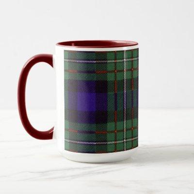 Ferguson clan Plaid Scottish tartan Mug