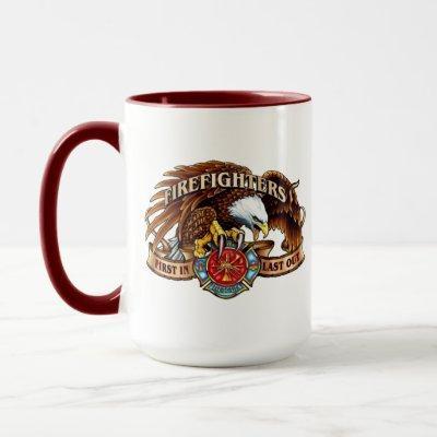 Firefighter Eagle Mug