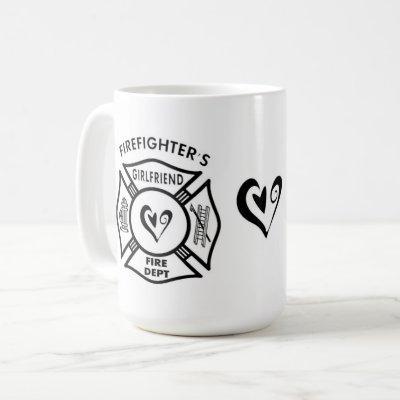 Firefighters Girlfriend Coffee Mug