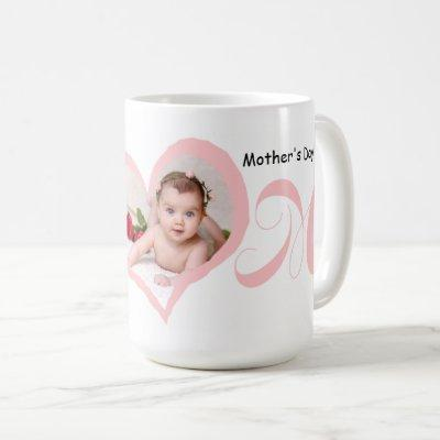 First Mother's Day with Baby Photo Mug