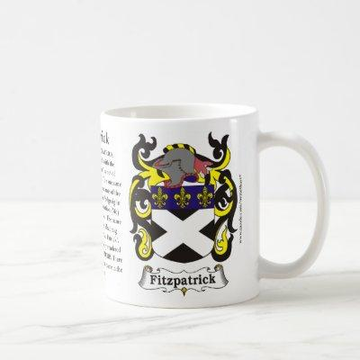 Fitzpatrick, the History, the Meaning and the Cres Coffee Mug
