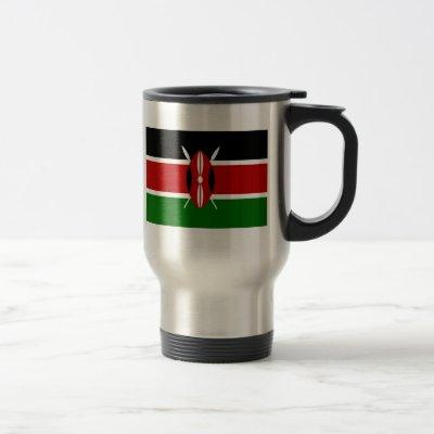 Flag of Kenya Travel Mug