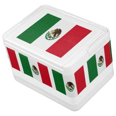 Flag of Mexico Cooler