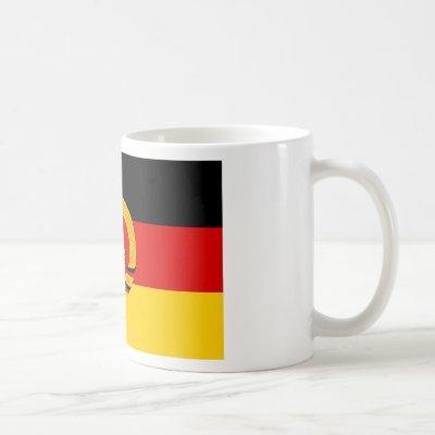 Flagge der DDR - Flag of the GDR (East Germany) Coffee Mug