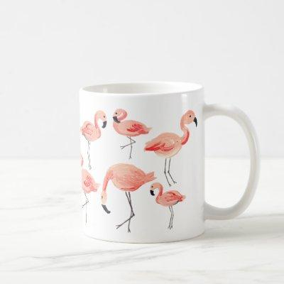 Flamingo Party Coffee Mug