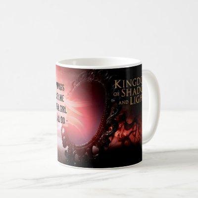 Fly Beautiful Girl Coffee Mug
