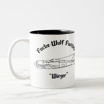 Focke-Wulf Fw190 Two-Tone Coffee Mug