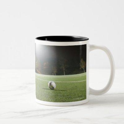 Football 3 Two-Tone coffee mug