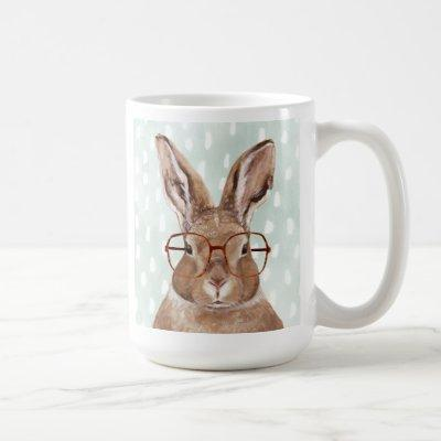 Four-Eyed Forester | Bunny Rabbit Coffee Mug