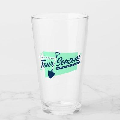 Four Seasons Total Landscaping Beer Glass