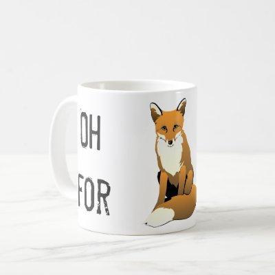 Fox Sake Mug