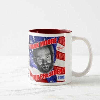 frankforprez-mug Two-Tone coffee mug