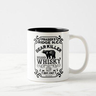 Fraser's Ridge Whisky Two-Tone Coffee Mug