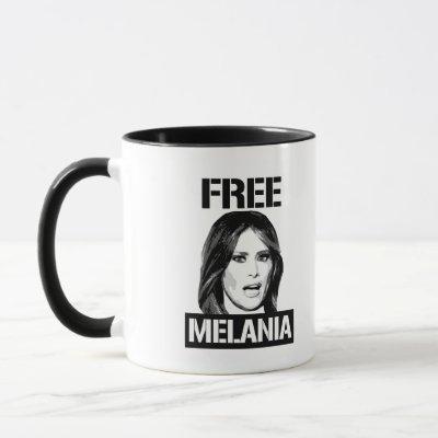 FREE MELANIA - MUG