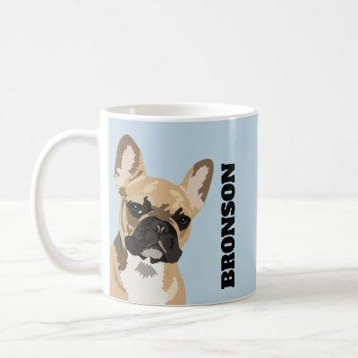 Frenchie Pet Dog | Cute French Bulldog Coffee Mug