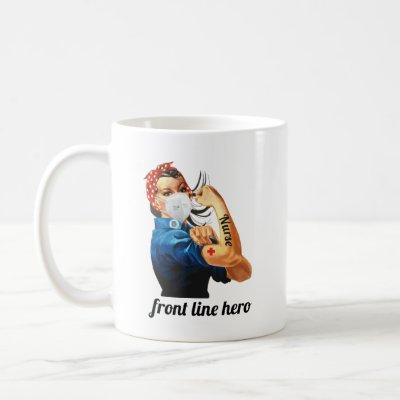 Front Line Nurse Coffee Mug