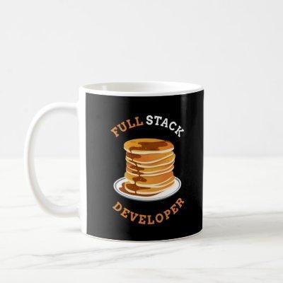 Full Stack Developer Programmer Coding Coffee Mug