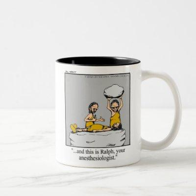 Funny Anesthesiologist Medical Mug