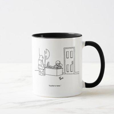 Funny Auditor Humor Coffee Mug