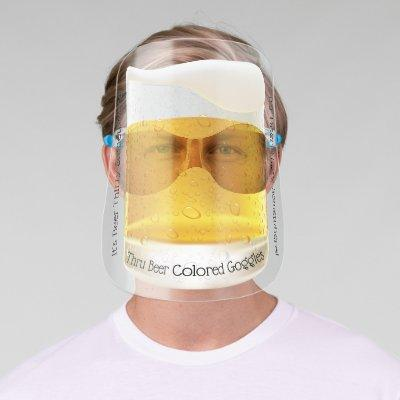 Funny Beer Thirty Goggles Face Shield