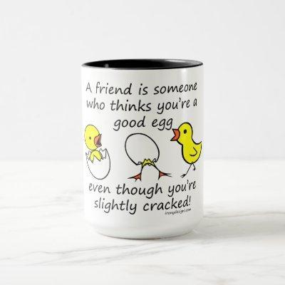 Funny Best Friend Saying Mug