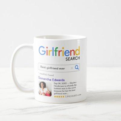 Funny Best Girlfriend Ever Search Result & Photo Coffee Mug