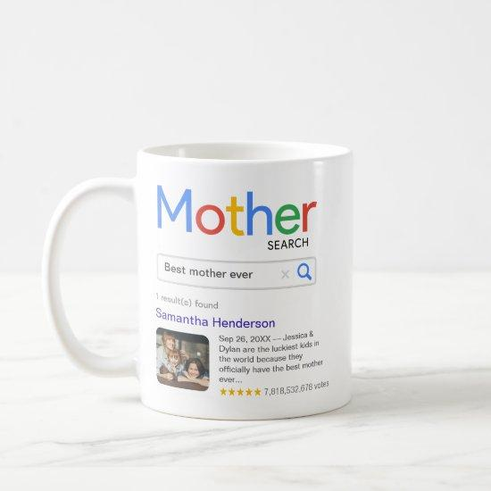 Funny Best Mother Ever Search Results With Photo Coffee Mug