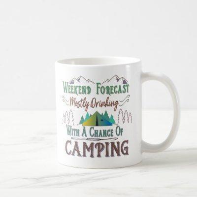 Funny Camping Coffee Mug