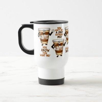 Funny Coffee Lover Travel Mug
