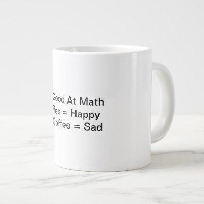 Funny coffee mug for people with sense of humor