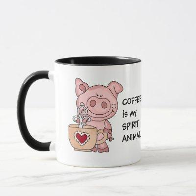 Funny Coffee Spirit Animal Mug