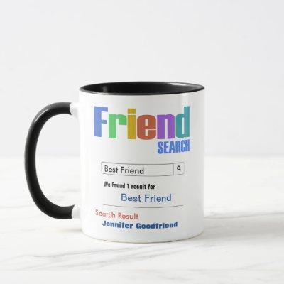 Funny Custom Best Friend Gift Mug