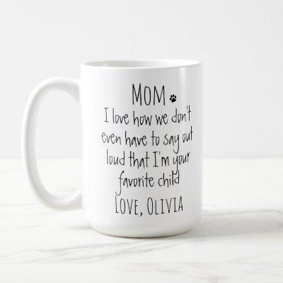 Funny Dog Mom Coffee Mug